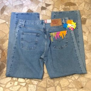 LVC Levi's Vintage Clothing 501 1980's Denim Jeans Manchester Inspired 33X32 NWT